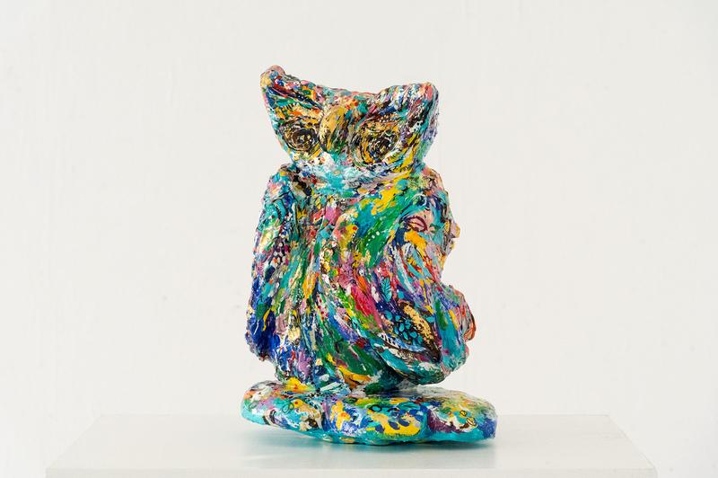 Owl, incognito - Sabeth Holland