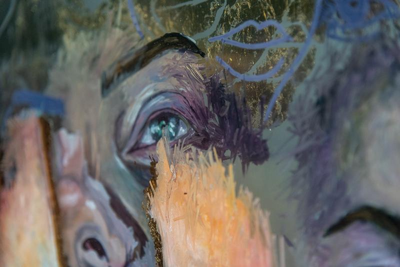The mask II Detail - Jasmin Villiger