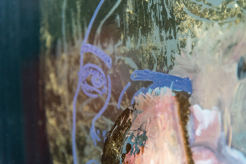 The mask II Detail- Jasmin Villiger