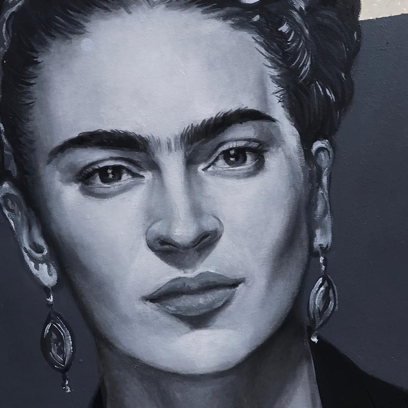 Frida Kahlo Detail - Jasmin Villiger