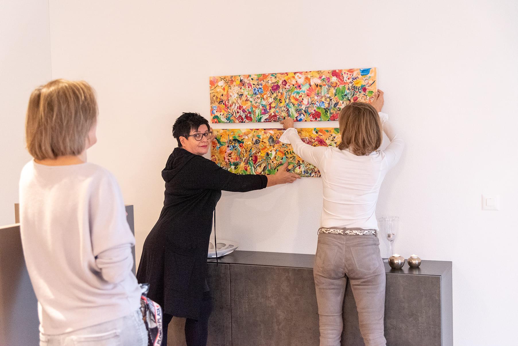 next-ART Myriam Waldvogel, Sabeth Holland