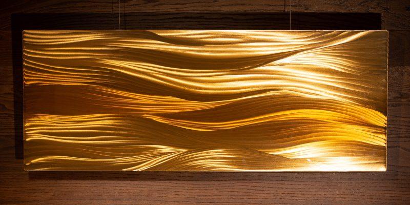 Das sanfte Sonnenlicht über der Düne - Greta Rohner
