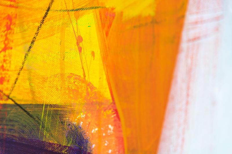 Farbenwelt - Detail - Erika Wachter