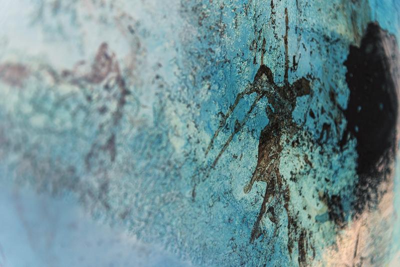 Meerestiefe - Detail - Erika Wachter