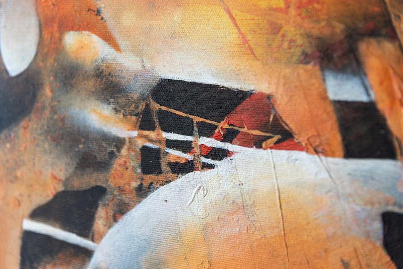 Feuerwerk - Detail - Erika Wachter