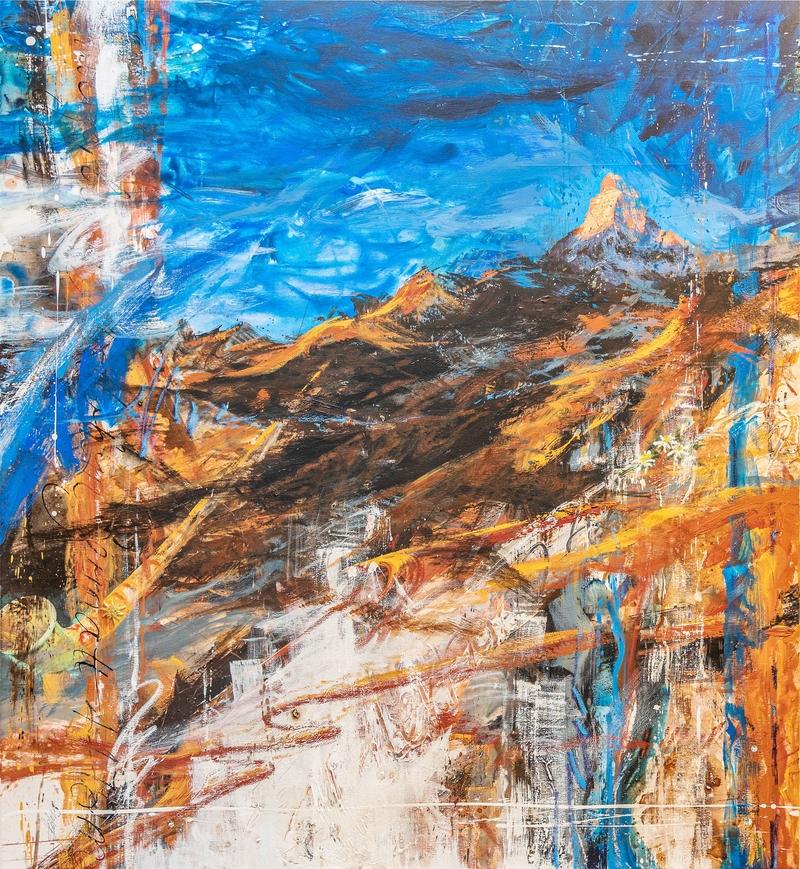 Das Matterhorn - Suzanne Ledergerber